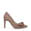 Roze pumps met strik