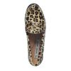 Luipaard print loafers