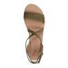 Donkergroene sandalen