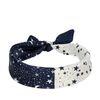 Foulard avec étoiles et petites lunes