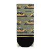 XPOOOS sokken met gele taxi's