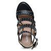 Sandalen met hak studs