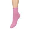 Roze glitter sokken
