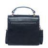 Zwarte schoudertas met parels