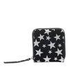 Kleine zwarte portemonnee met sterren