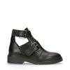 Zwarte cut out boots