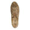Lage sneakers met panterprint