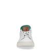 Baskets avec détail vert - blanc
