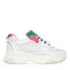 Dad sneakers groen/roze