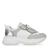 Dad sneakers - blanc/argent