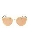 Rosé gouden flash zonnebril