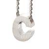 LUZ - zilveren bedel letter C