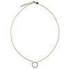 LUZ Circle of joy ketting - goud
