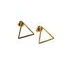 LUZ - Open triangel oorsteker