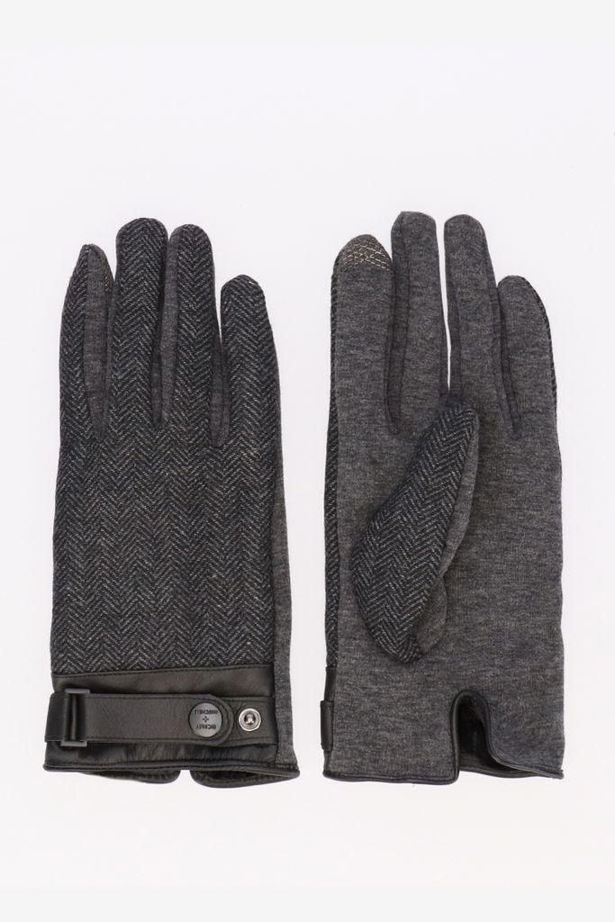 Bickley And Mitchell Bickley + Mitchell handschoenen antraciet