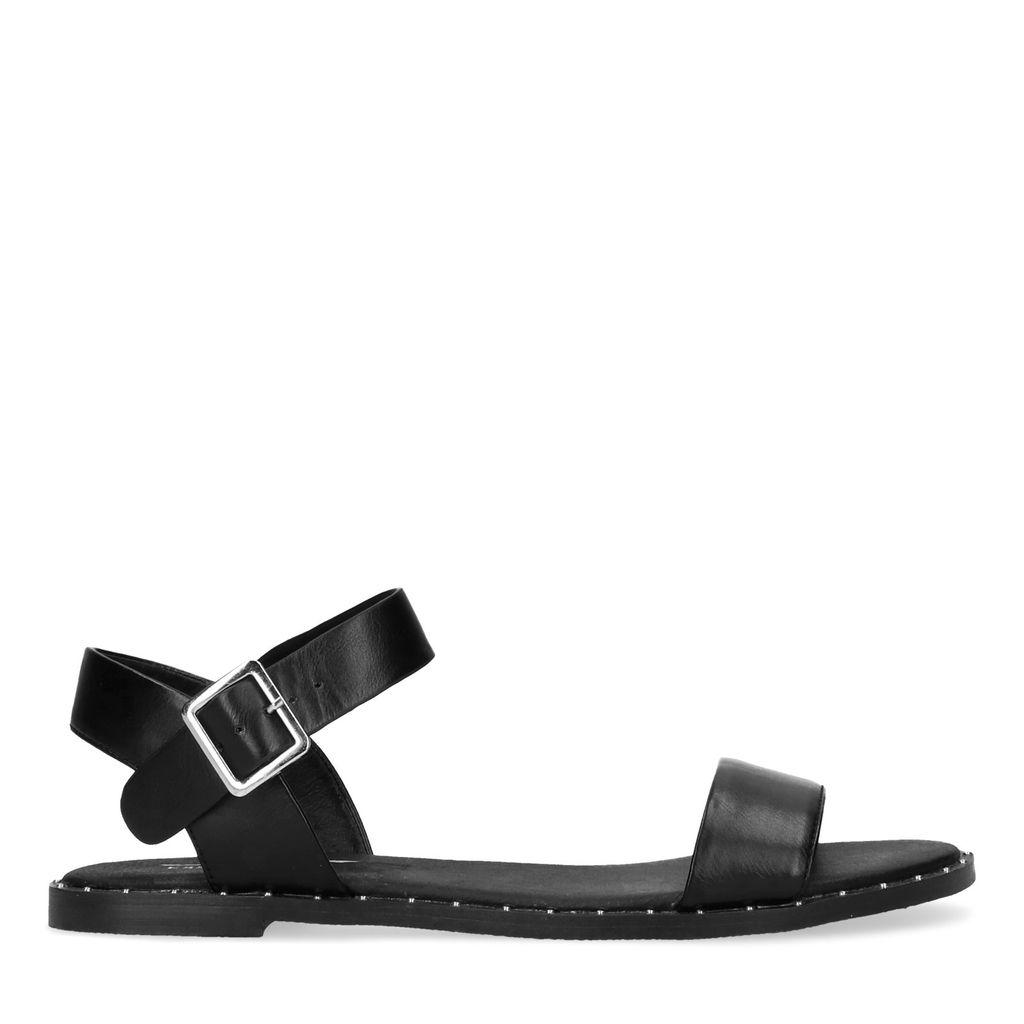 Zwarte sandalen met studs (Maat 38)