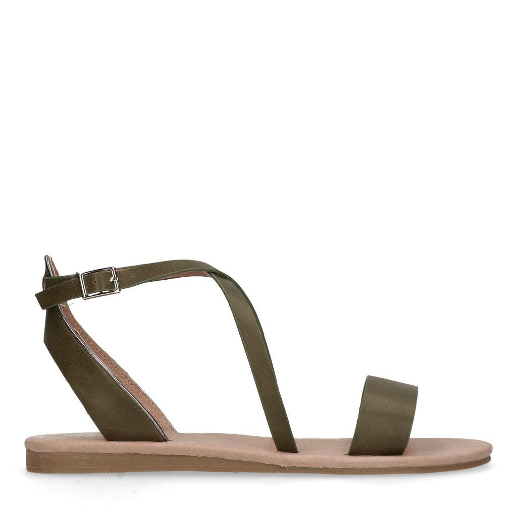 Groene sandalen (Maat 36)