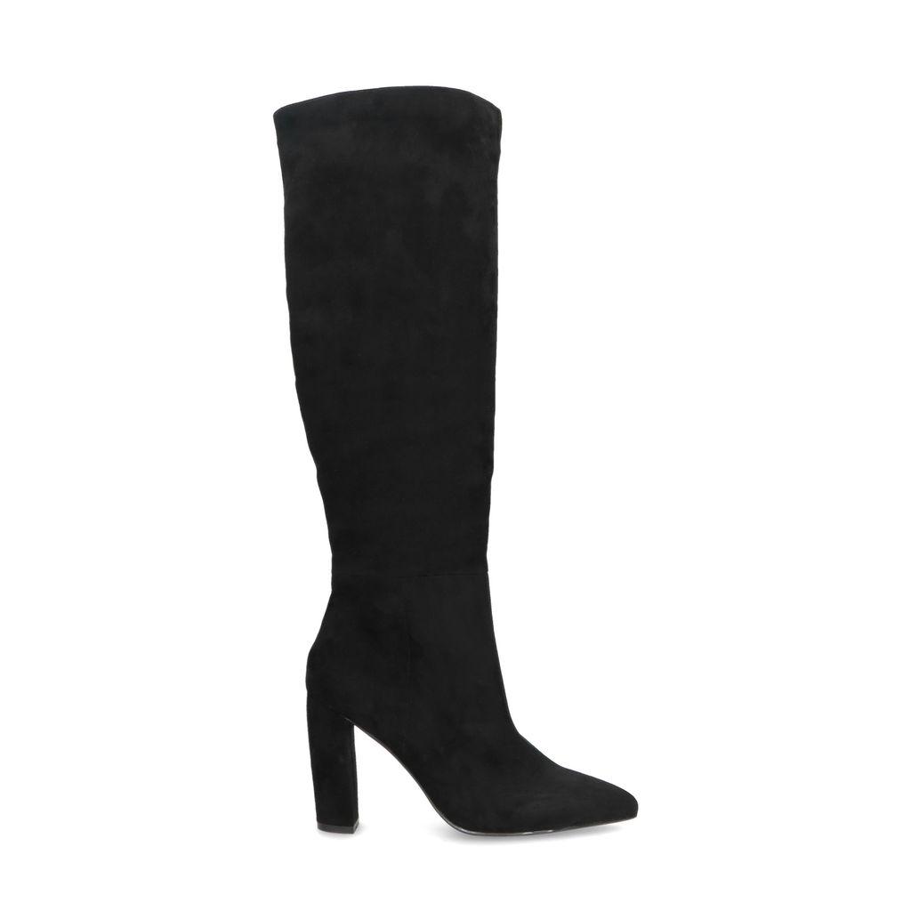 Hoge zwarte laarzen met hak (Maat 36)
