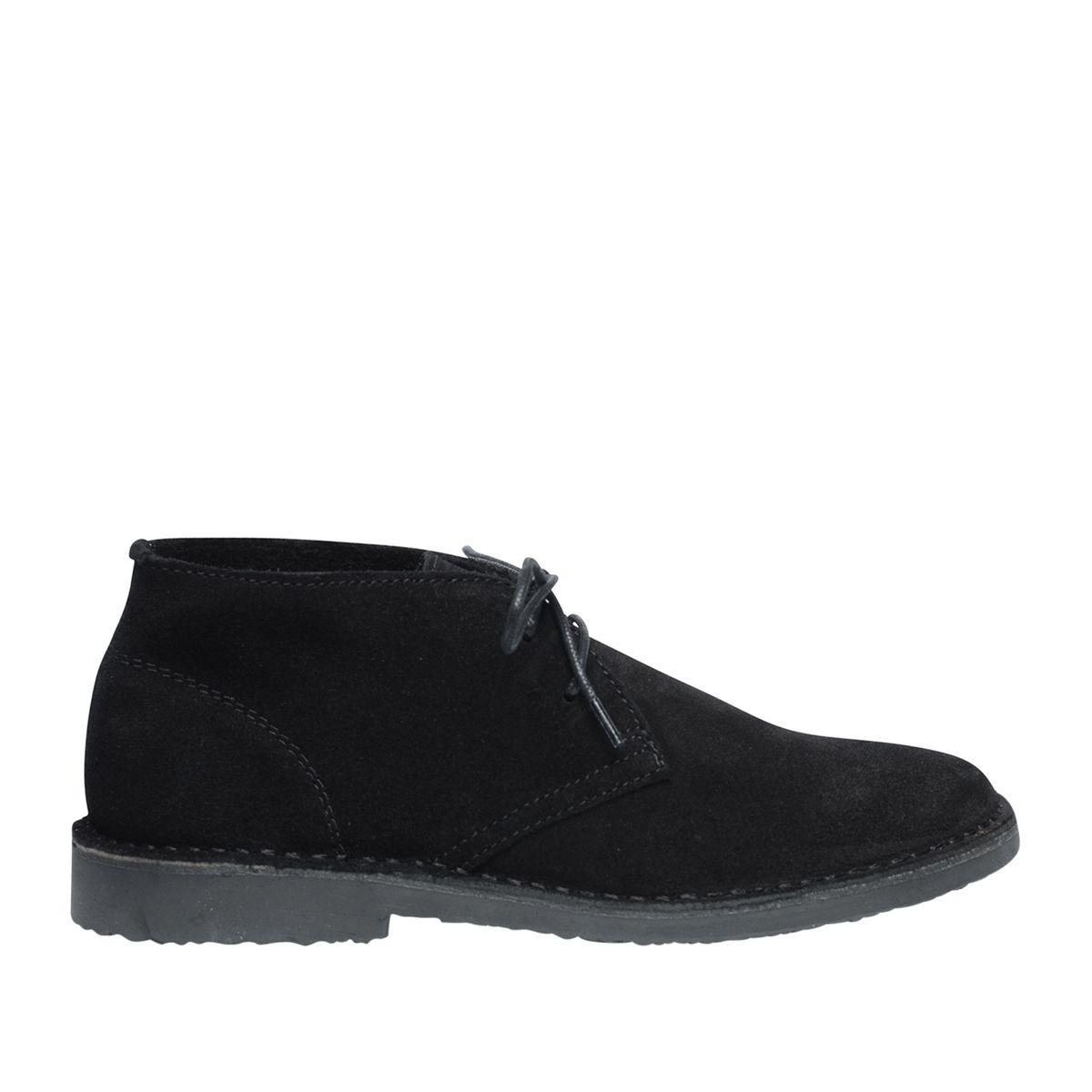 Desert boots en daim - noir - Sacha - Modalova