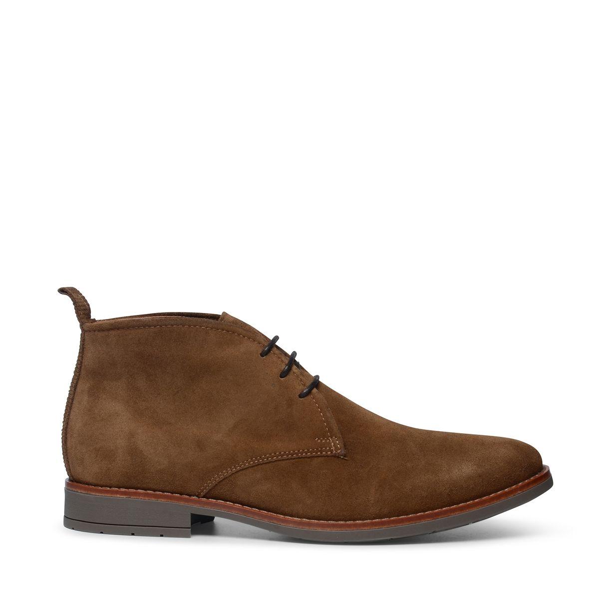 Desert boots en daim - camel - Sacha - Modalova