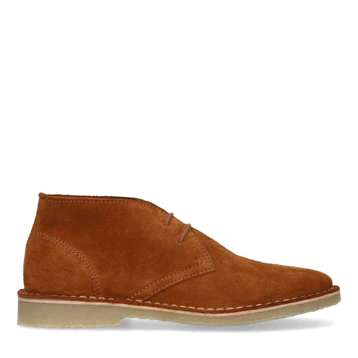 Desert boots en daim - marron - Sacha - Modalova