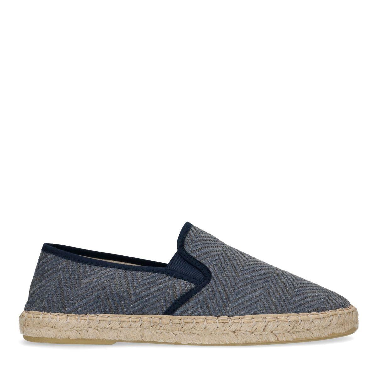 Slip-on textile - bleu (Maat 42)