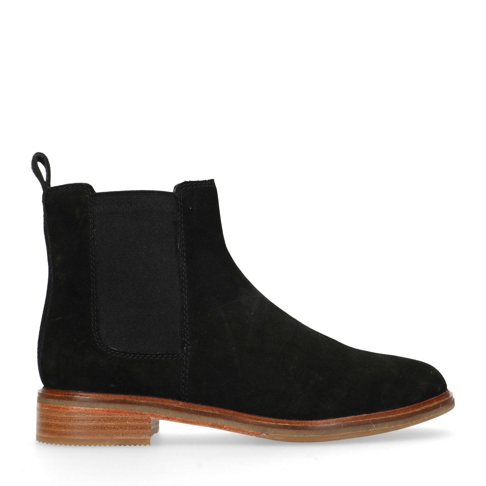 Suède chelsea boots Arlo Dames   MANFIELD