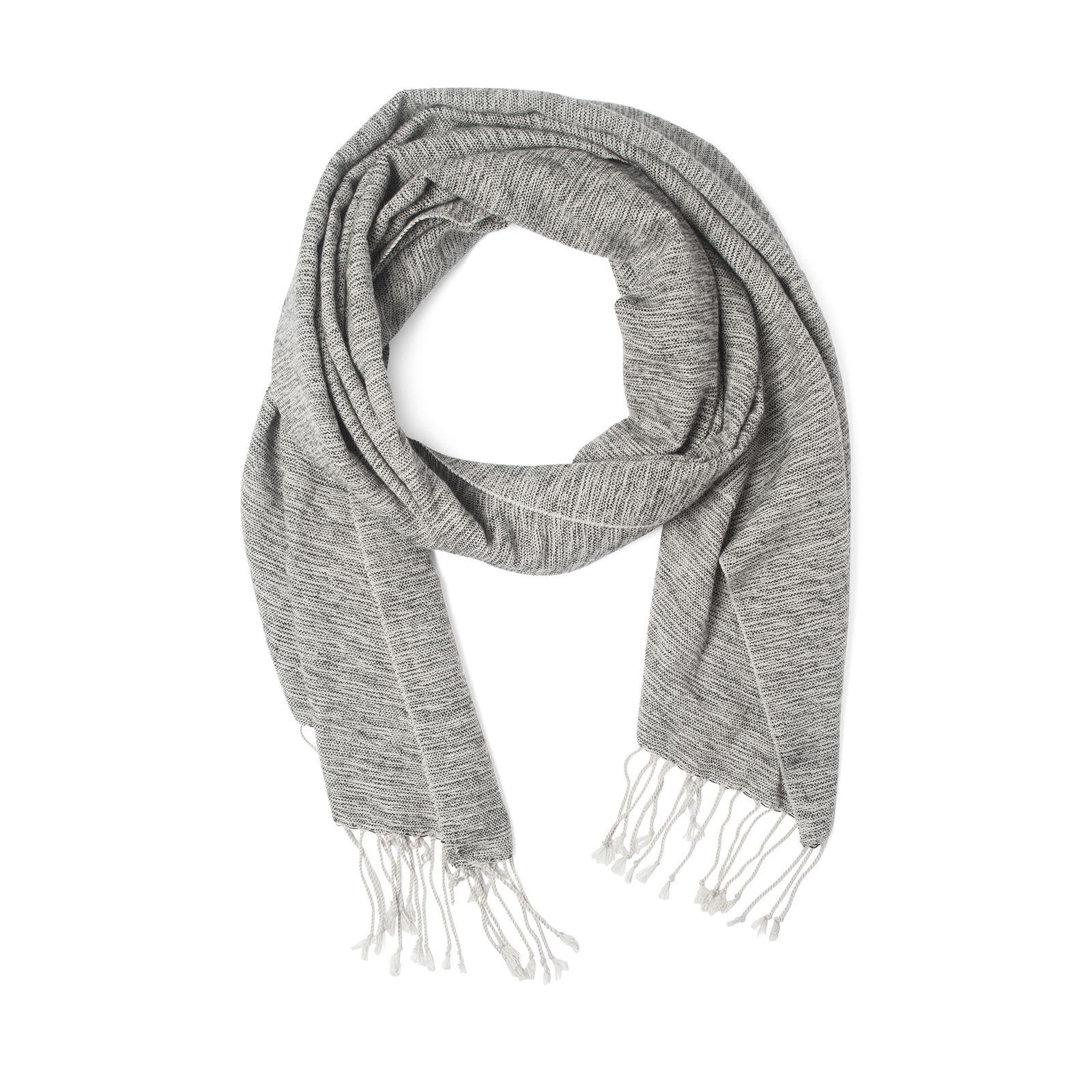 Écharpe grise pour hommes