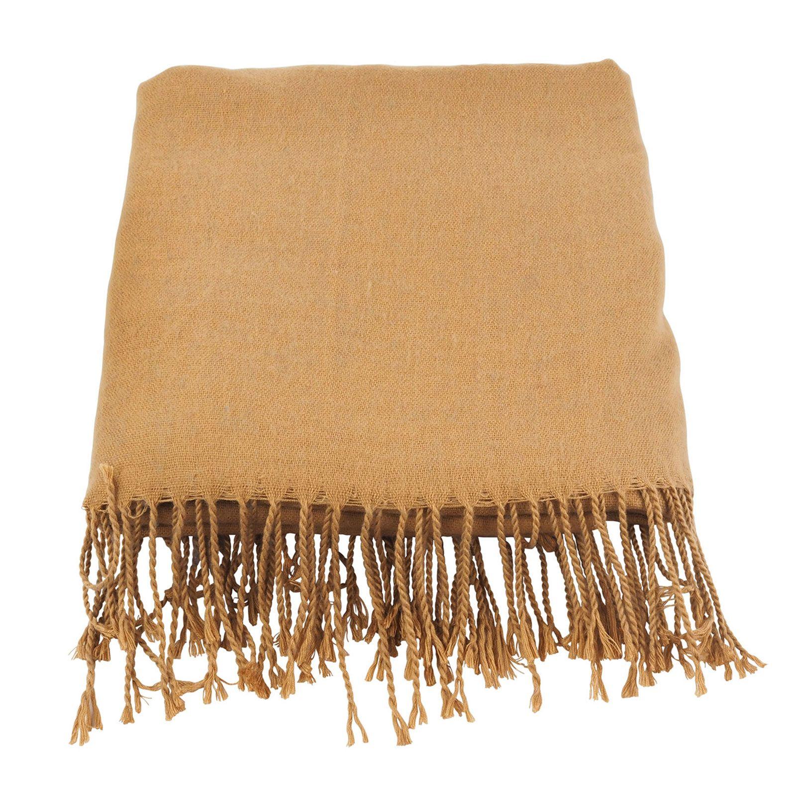 Modischer Schal - braun