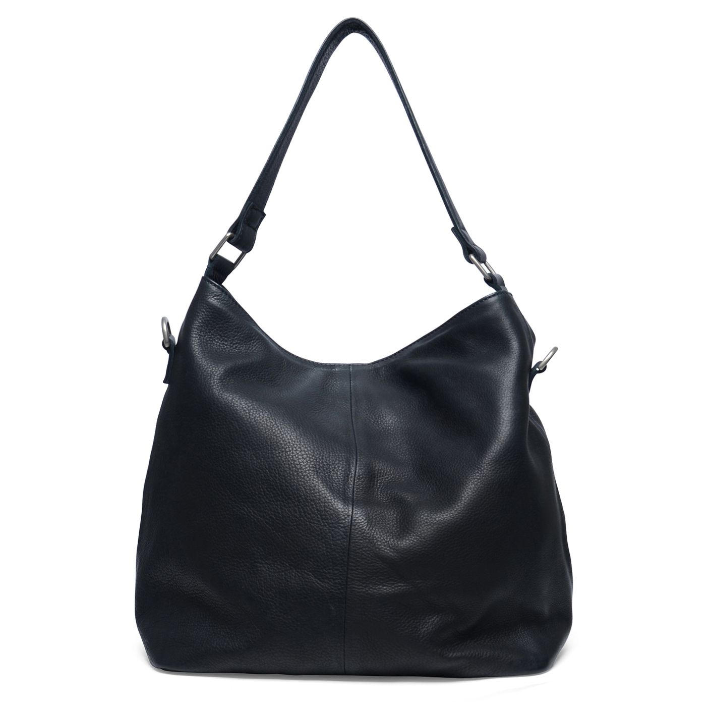 Zwarte Leren Schoudertassen : Zwarte leren handtas tassen  sacha be