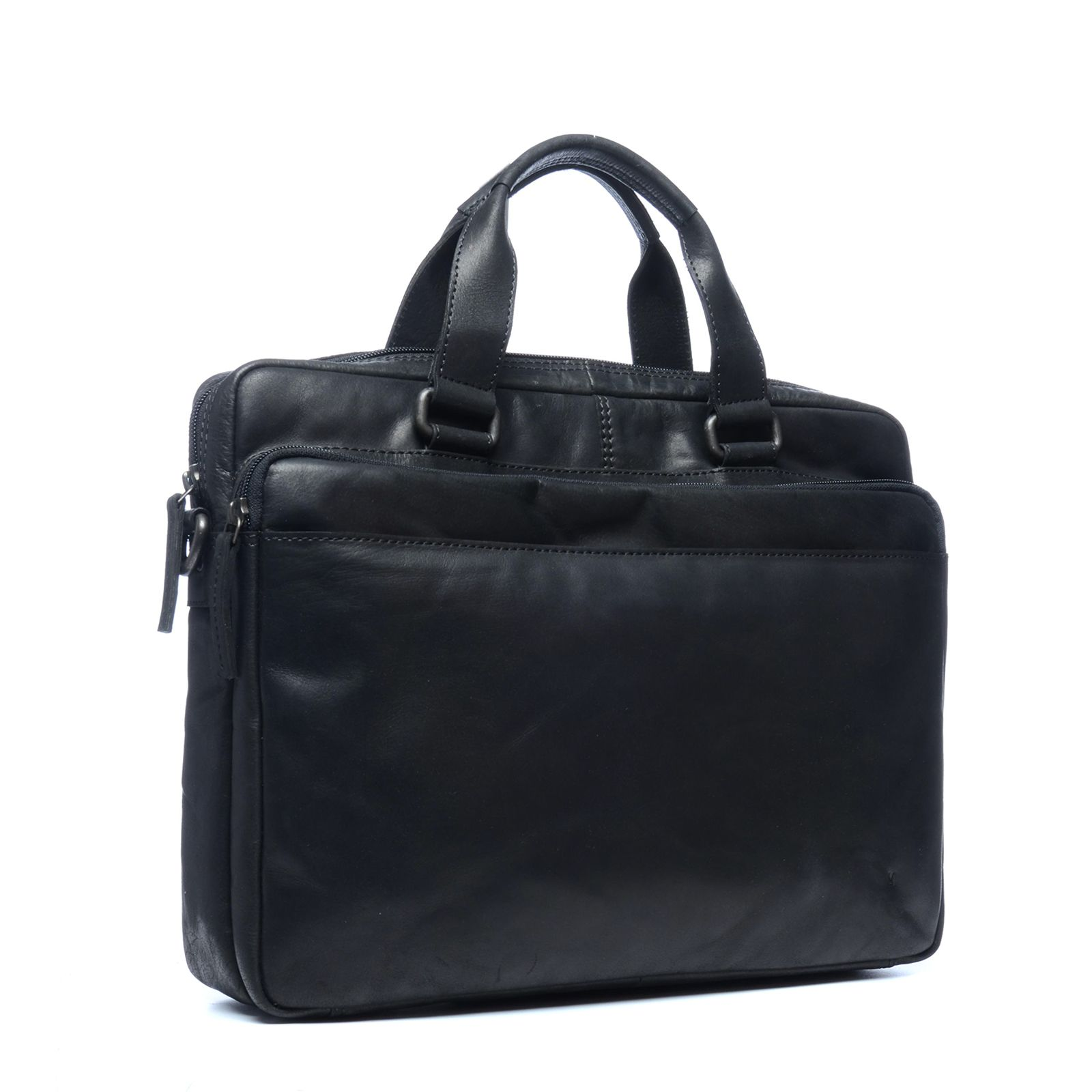 Tas Heren Hip : Zwarte heren tas tassen manfield