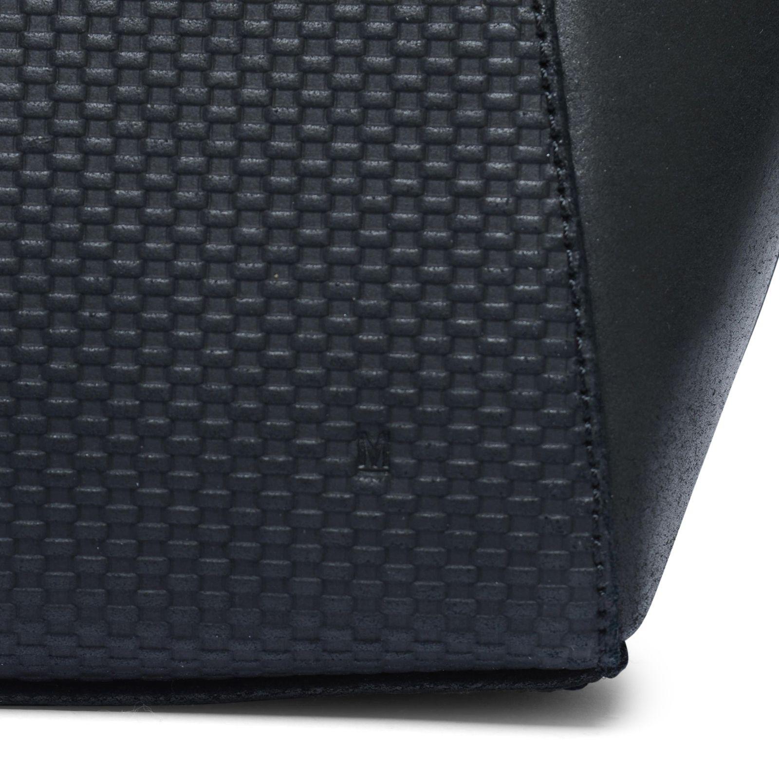 Tassen Patroon : Zwarte handtas met patroon tassen manfield