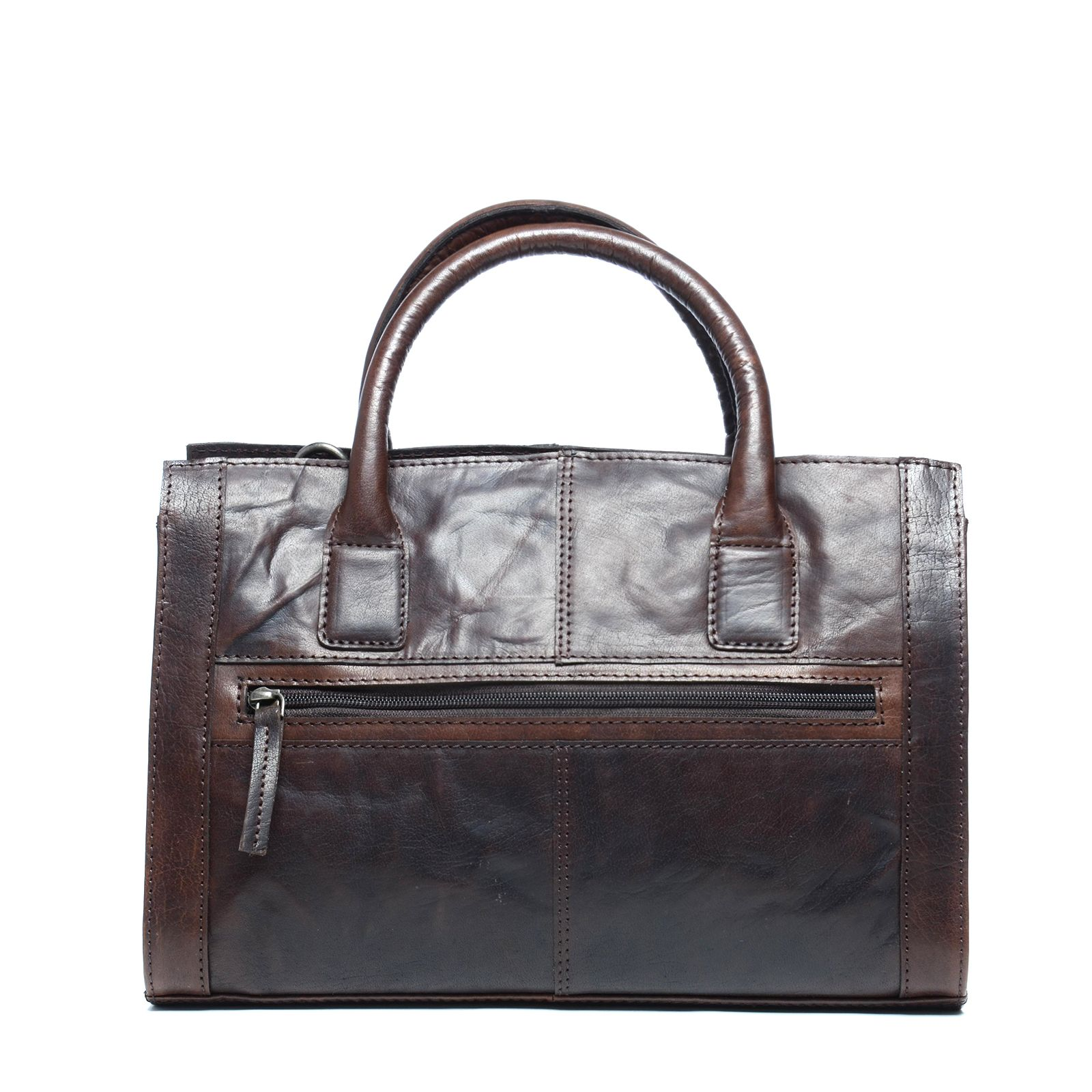 Zalando Bruine Tassen : Bruine handtas met rits tassen manfield