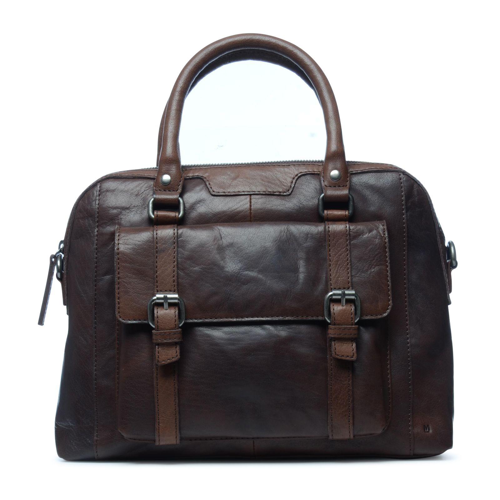 Zalando Bruine Tassen : Bruine handtas met voorvakje tassen manfield