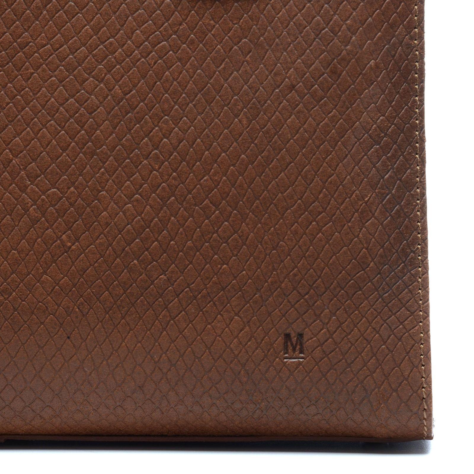 Tassen Patroon : Cognac tas met patroon tassen manfield