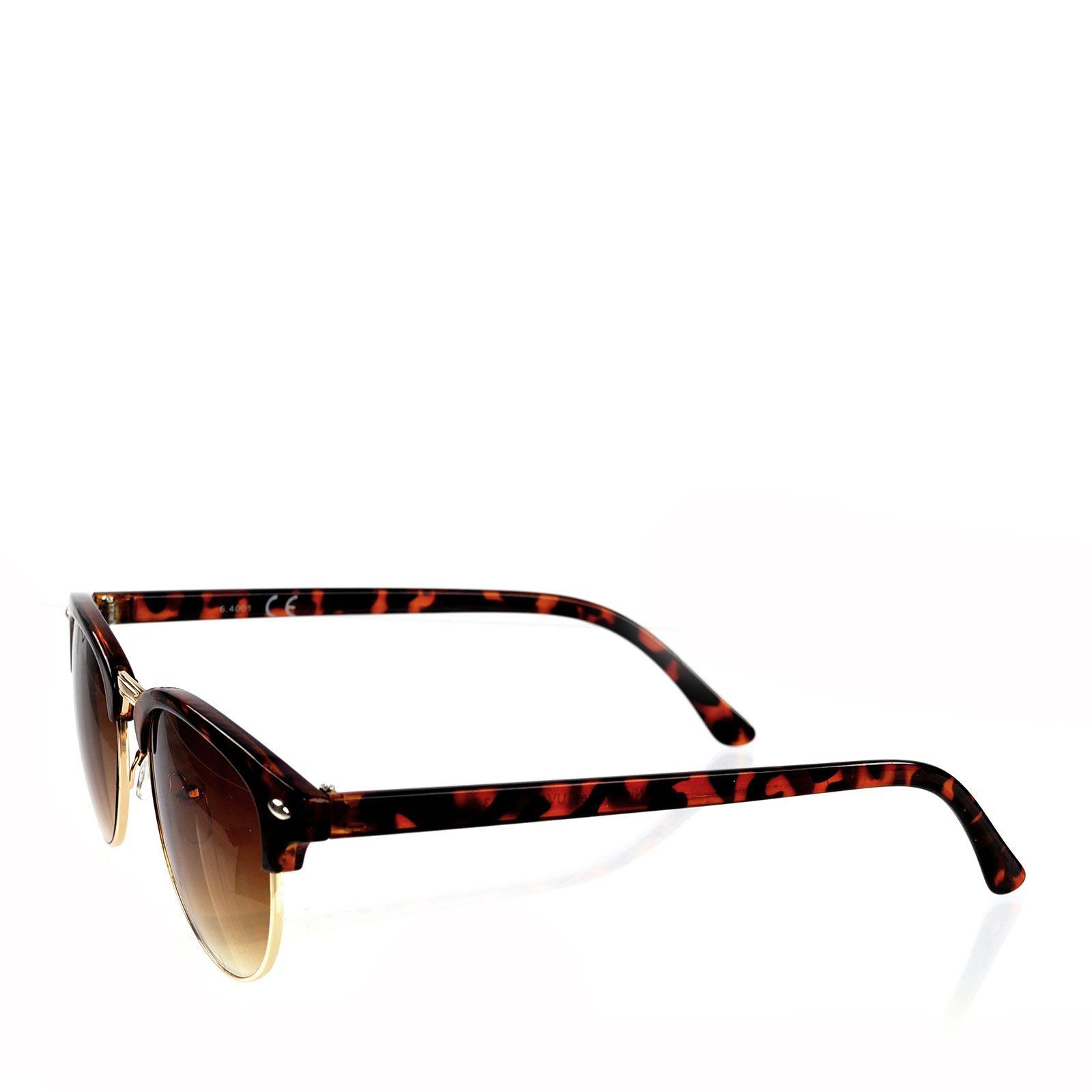 Retro zonnebril luipaard accessoires - Accessoire retro ...