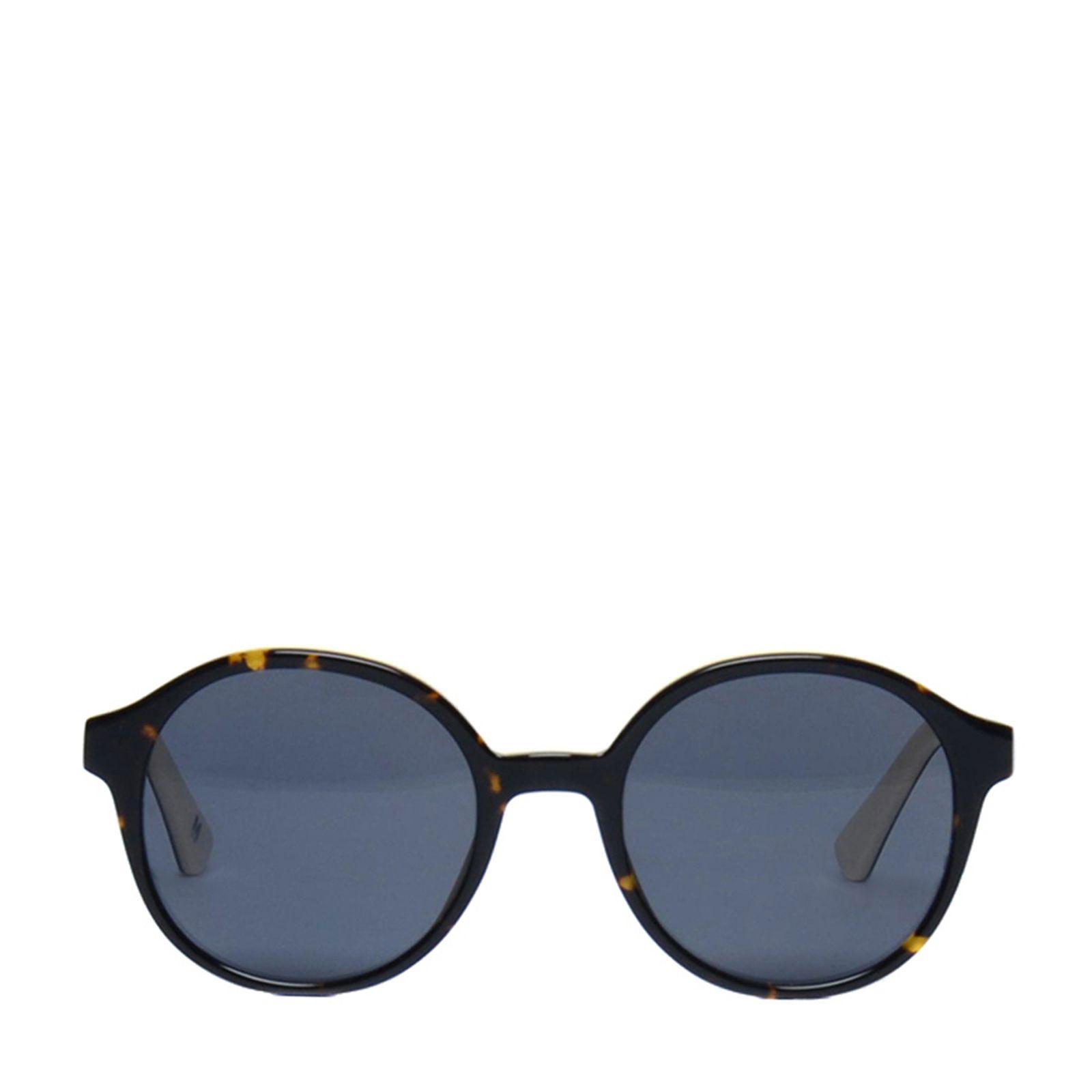 sonnenbrille mit runden gl sern blau. Black Bedroom Furniture Sets. Home Design Ideas