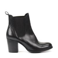 Chaussures Derby En Cuir - Chaussures Postier Aile Rouge Noir