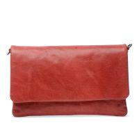 Rote Schultertasche (Onesize) Manfield