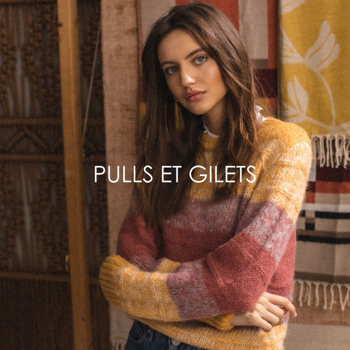 Pulls et gilets >