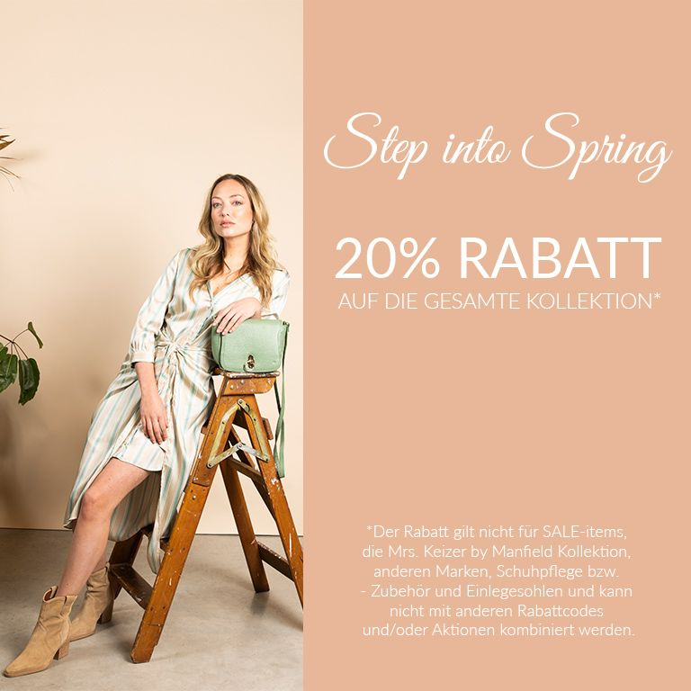 Step into spring action