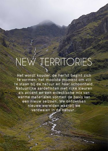 New territories >