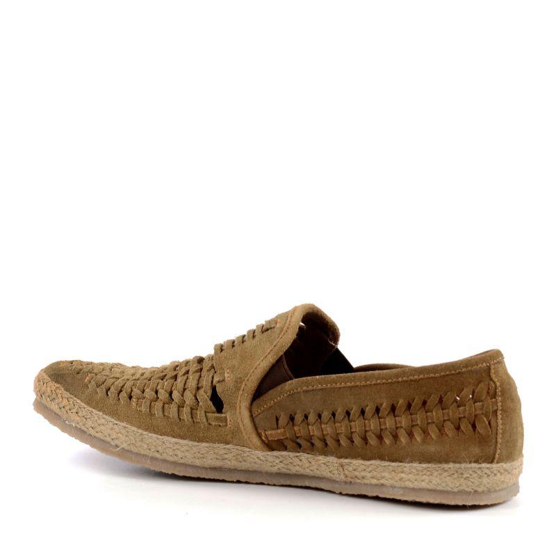 Geflochtene Loafer - braun