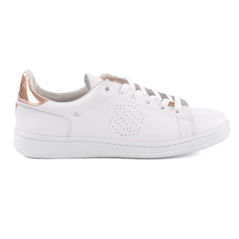 Flache weiße Sneakers - THE BREAK