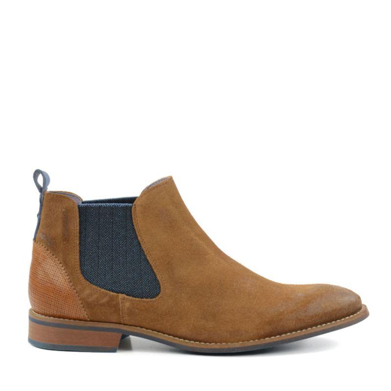 Bruine Chelsea boots