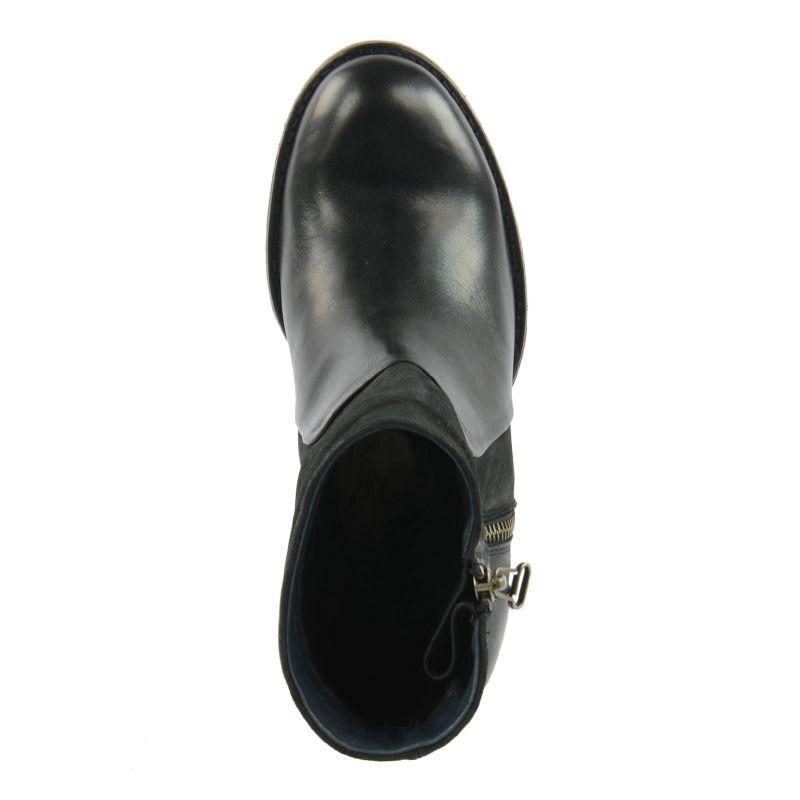 Korte zipper laarzen