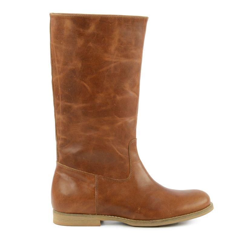 Hoge laarzen bruin