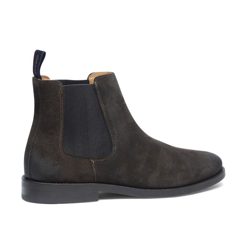GANT Max donkerbruine chelsea boots