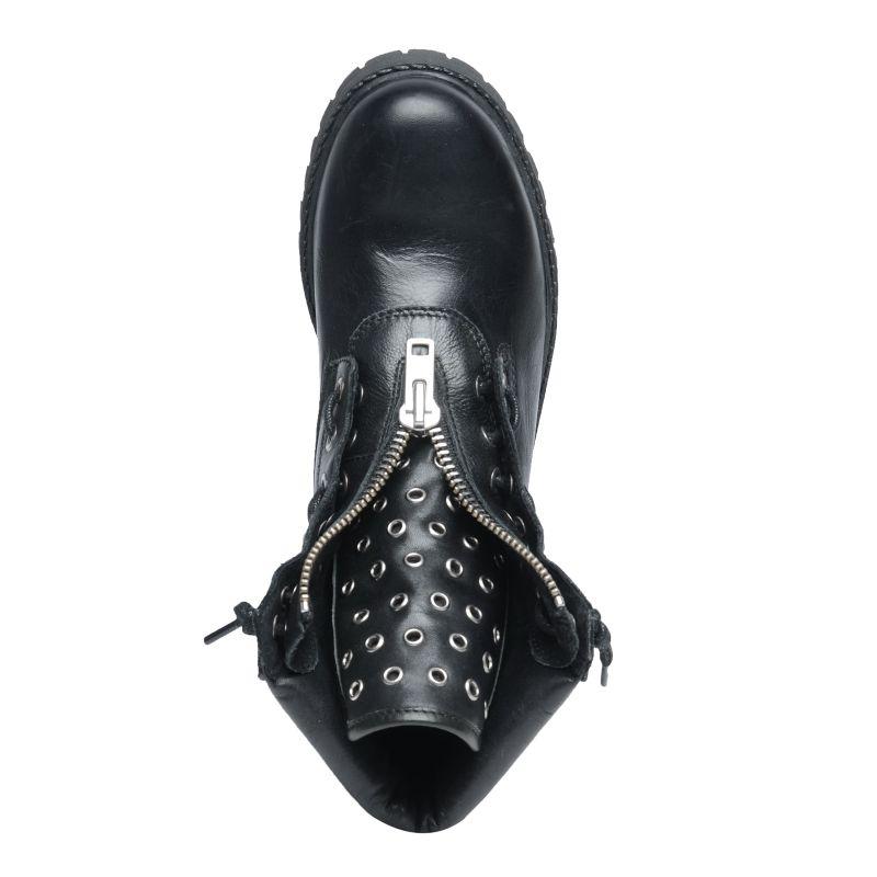 Biker boots met rits