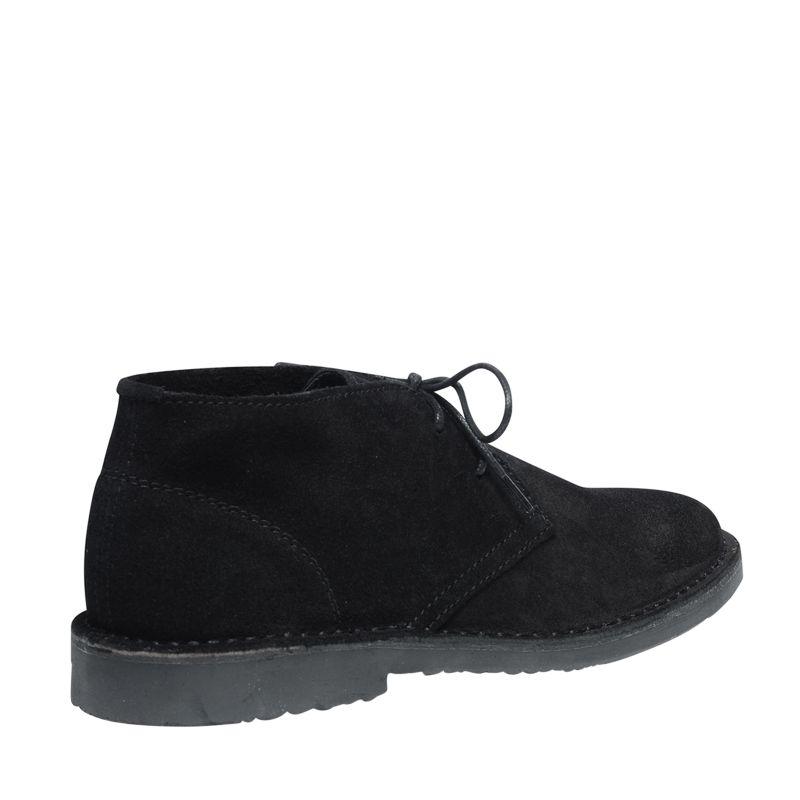 Suède desert boots zwart